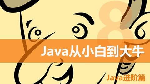 Java从小白到大牛第3篇  【Java】进阶视频课程