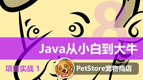 Java从小白到大牛第4篇项目实战视频课程1——【Java】PetStore宠物商店