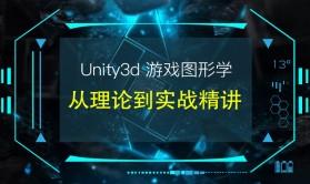 Unity3d游戏图形学从理论到实战精讲视频课程