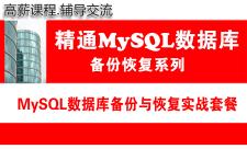 MySQL教程(第五月):MySQL数据库备份与数据恢复实战