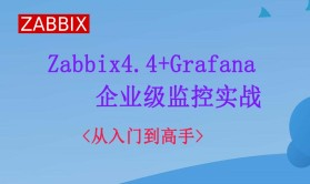 Zabbix4.4+Grafana企业监控实战(2020年视频教程)