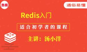 Redis入门视频课程(适合初学者的教程)