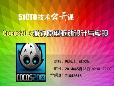 Cocos2d-x游戏原型驱动设计与实现视频教程